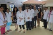 Ms. Sanju Arianayagam from England visits IAD